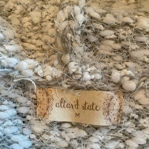 Altar'd State Sweaters - Altar'd State White/ Gray Long Sweater - Size L